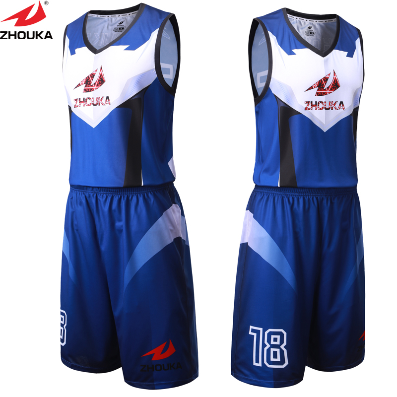 b58884c3d66 ZhouKa Personal basketball uniform customizing