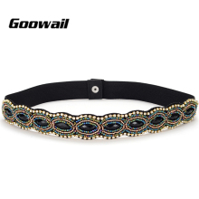 Goowail 2019 Elegant Rhinestone Belts for women Waistband Ladies for d