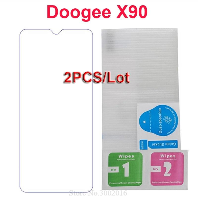Купить 2 шт закаленное Стекло Для Doogee X 90 X90L 9 H Anti-Explosion корпус смартфона ЖК-дисплей Пленка Для Doogee X90 X90L Стекло Экран протектор на Алиэкспресс