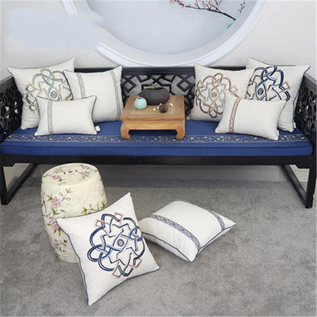 Sofa Cushion Pillow Capaalmofada Foam Filler Pillow Emoticons Home Decor  Plaid Donut Pillow Cushion Cushion CCJZ98
