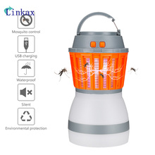 Portable Camping Light USB Rechargeable Anti Mosquito Killer Lamp DC5V Outdoor Camping Lantern Tent Light Bug Zapper Lamp