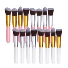 T2N2 Fashion 4Pcs Face Eye Makeup Brushes Kit  Eyeshadow Concealer Foundation Blending Cosmetic Tool Beauty Brush