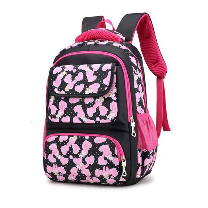 waterproof Children School Bags For Teenager Girls Printing Children Backpacks For Girls ...