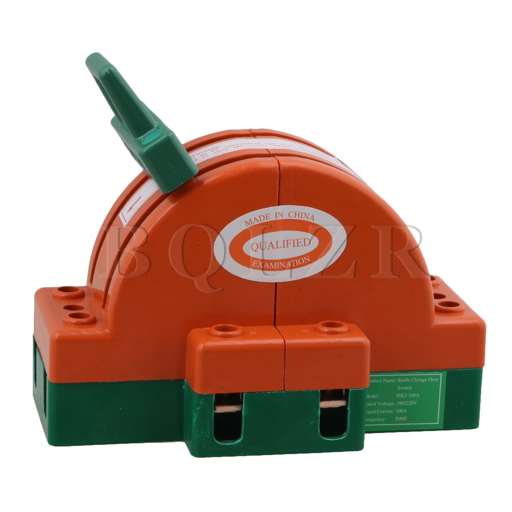 все цены на BQLZR Disconnect Switch Power Switch Knife Switch With Double-Bladed 2P 63A онлайн