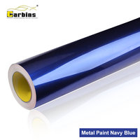 Carbins Film Metal Paint Navy blue High Quality Vinyl Car Wrap