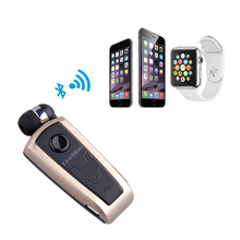 Elastic music Bluetooth Wireless Microphone FineBlue F910 In-Ear Calls Remind Vibration Wear Clip Headset For Phone call