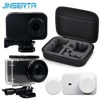 4 In 1 Camera Bag Set Waterproof Housing Plastic Skeleton Frames Soft Silicone Cover EVA Storage