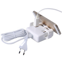 1 Set 30W 4 USB Ports Travel Home Wall Charger Adapter Device For Iphone 6 6s