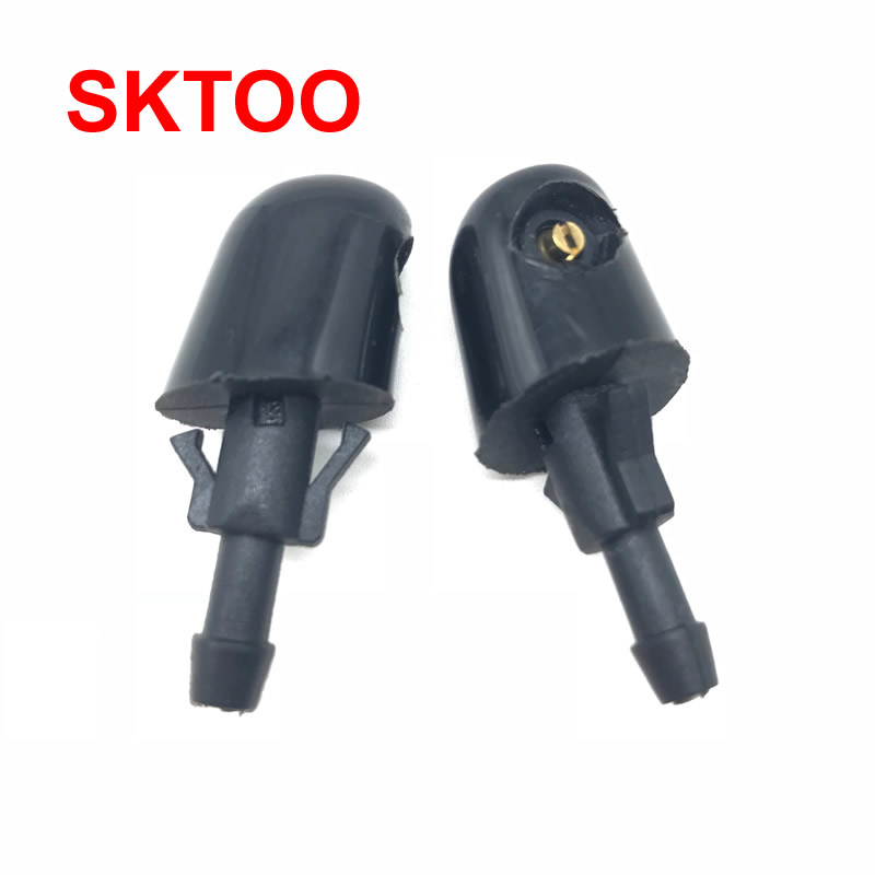 1 Pair Rear Windscreen Washer Jet Nozzle Water Spray Replacement Nozzle For Great Wall Hover H3 H5