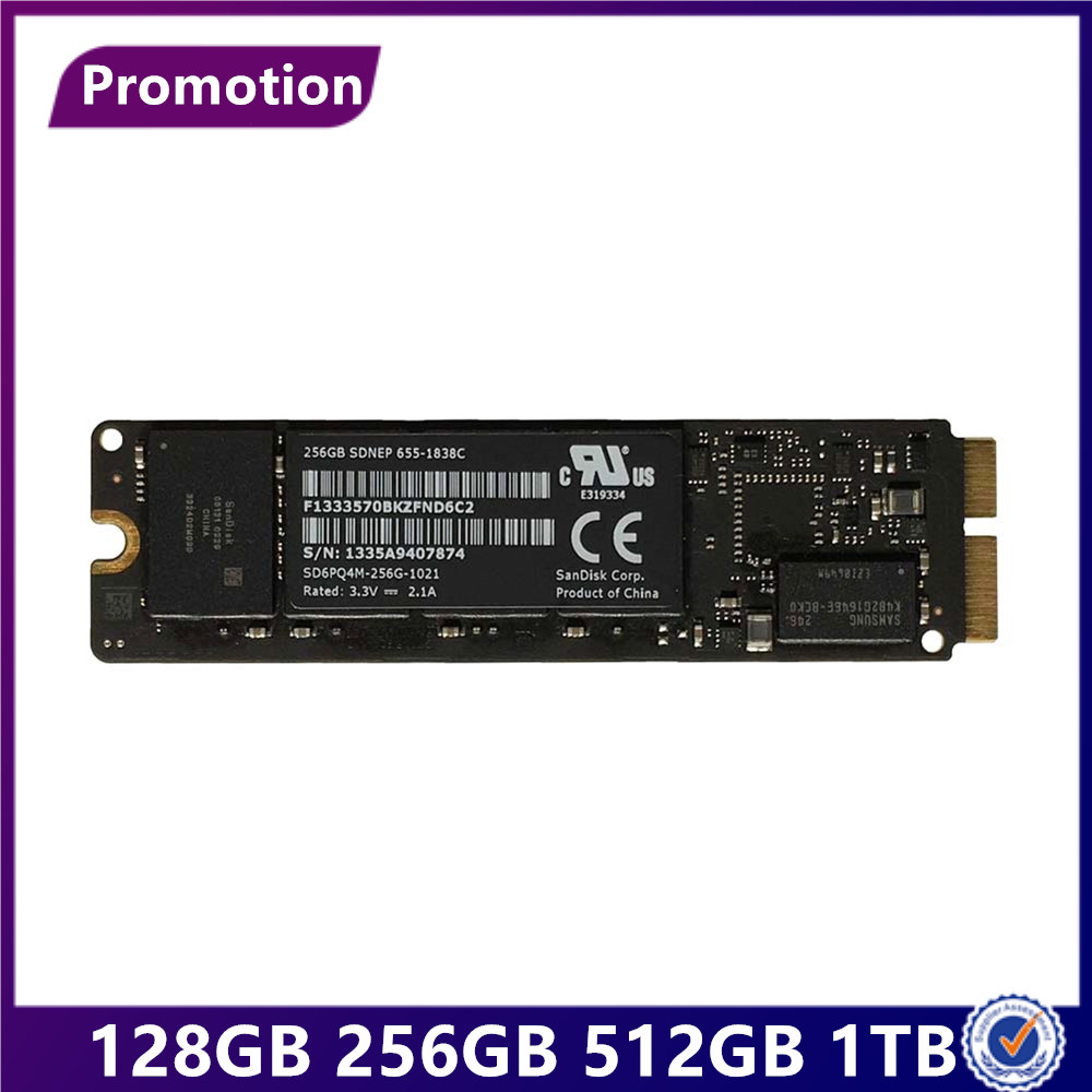 Sale 2013 2014 Year for Macbook Pro Retina A1502 A1398 Air A1466 A1465 SSD Solid State