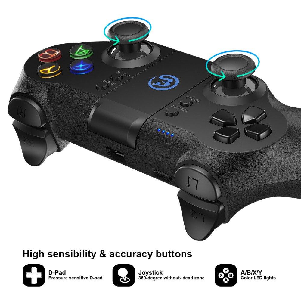 GameSir T1s Bluetooth Sans Fil Contrôleur de Jeu Gamepad pour Android/Windows PC/VR/TV Box/PS3 Meilleur pour cadeau de noël - 5