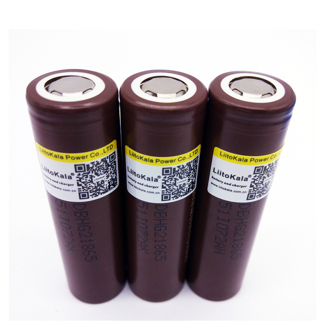Large Current 18650 Rechargeable Battery