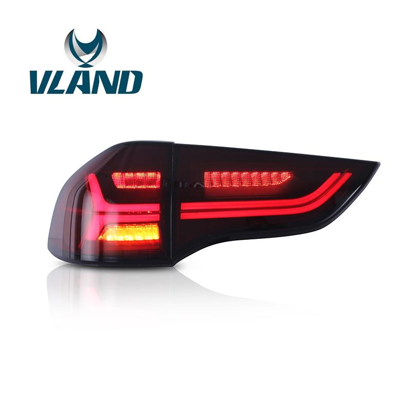 VLAND Usine Pour Voiture Feu arrière Pour Mitsubishi Pajero Sport Feu Arrière 2008 2009 2010 2012 2014 Montero LED Lampe De Queue rouge Couleur