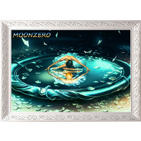 DIY Diamond Painting Needlework Square Full Rhinestones Embroidery Picture Wall Sticker Decor Gemini From The Dancing