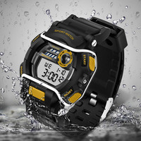 Quzrtz Digital LED Brand SANDA Watches Men Watch Waterproof Sports Outdoors Military Army G Style S