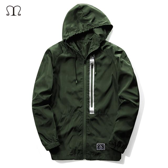 Hip Hop Solid Zipper Hoodies Men 2017 New Men Bomber Jacket Slim Fit Pilot Bomber Jacket Coat Men Jackets Plus Size 4XL