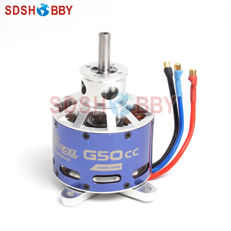 TomCat G50cc Brushless Outrunner Motor 8825 KV180 for 50-70CC Gasoline Airplanes fishycat tomcat 67sp dr x09