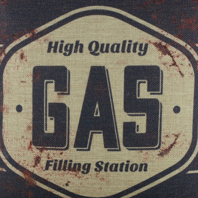 Gas Station Cushion Cover 4