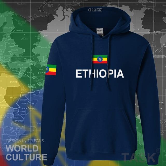 Ethiopia Ethiopian hoodies men sweatshirt sweat new hip hop streetwear clothing tops sporting tracksuit nation 2017 country ETH 1