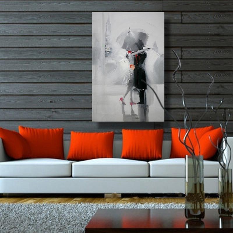 Οι λάτρεις στη βροχή Ρομαντικό - Διακόσμηση σπιτιού - Φωτογραφία 2