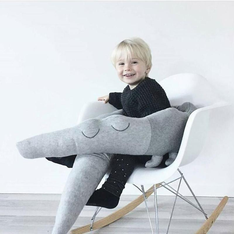 цена Long Pillow for Kids Stuffed Crocodile Toys Plush Baby Bumper Crib Bed Protector Cotton Sofa Cushion Children Room Decor 185CM онлайн в 2017 году