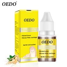 OEDO Foot Nail Care Herbal Antibacterial Nail Treatments Essential Oil Herbal Extract Nail Fungus Art Repair Tools 10ML стоимость