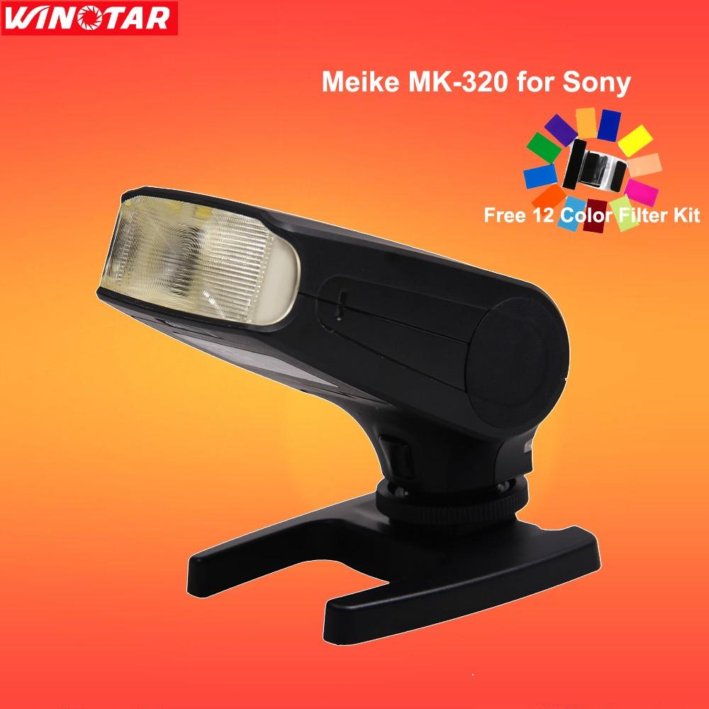 Meike MK320S MK-320 TTL Flash (GN32) Speedlite for Sony A7 A7 II A7S A7R A6500 A6300 A6000 A5000 NEX-7 NEX-6 NEX-5R NEX-5T NEX-3 viltrox ef nex ii canon ef lens to sony full frame nex cameras nex 3n nex 6 nex 7 a6000 nex 5 5n 5r 5t sony a7 a7r a7m2 adapter