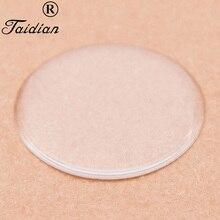 "Circle Epoxy Stickers Clear Epoxy Resin Stickers Flatback Cabochons Jewelry Accessories 100pcs/lot 2"" 50.8mm"