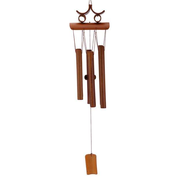 bamboo wind chimes retro bamboo wind chime feng shui windchime with hanging 10657