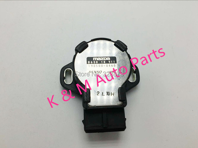 Throttle Position Sensor DENSO OEM B6S8-18-911 FOR 1990-1994 Mazda Protege Miata 323  TPS Sensor  B6S8 18 911 TPS Sensor