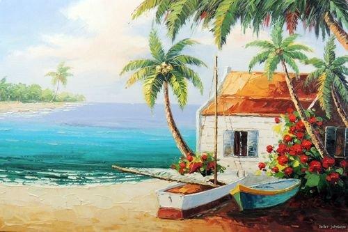 Popular Beach House Canvas Art-Buy Cheap Beach House Canvas Art ...