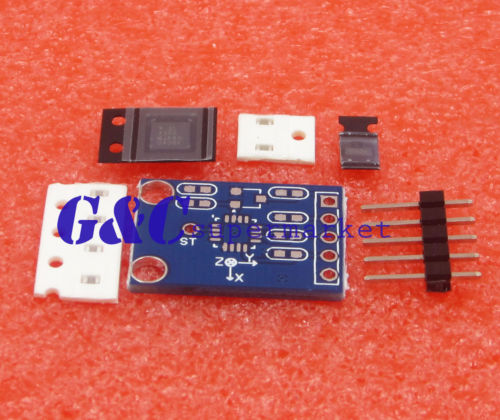 US $17 5 |5PCS ADXL335 3 axis Analog Output Accelerometer angular  transducer DIY Kit-in Integrated Circuits from Electronic Components &  Supplies on