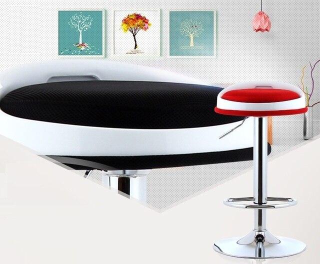 Mostra informazioni scrivania sedia sgabello nero verde rosso colore