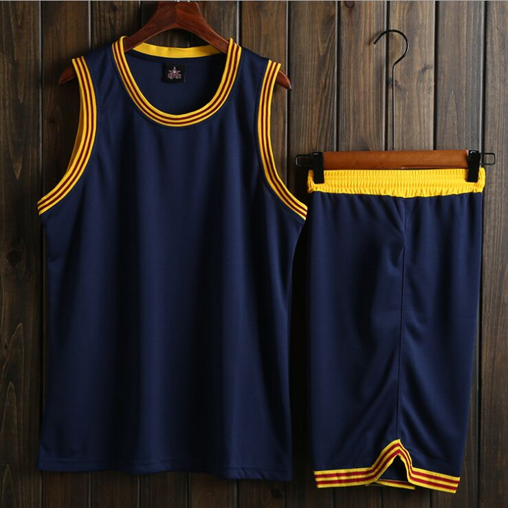 Дети и взрослые Колледж Баскетбол Трикотажные молодежи Баскетбол Униформа Дешевые Баскетбол Джерси шорты наборы, сша возврат мяч рубашка