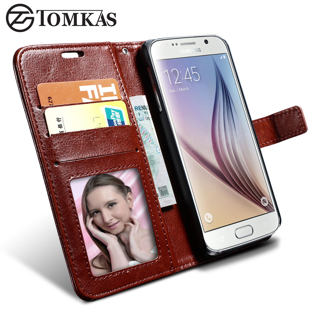 s6 s6 edge wallet leather case for samsung galaxy s6. Black Bedroom Furniture Sets. Home Design Ideas