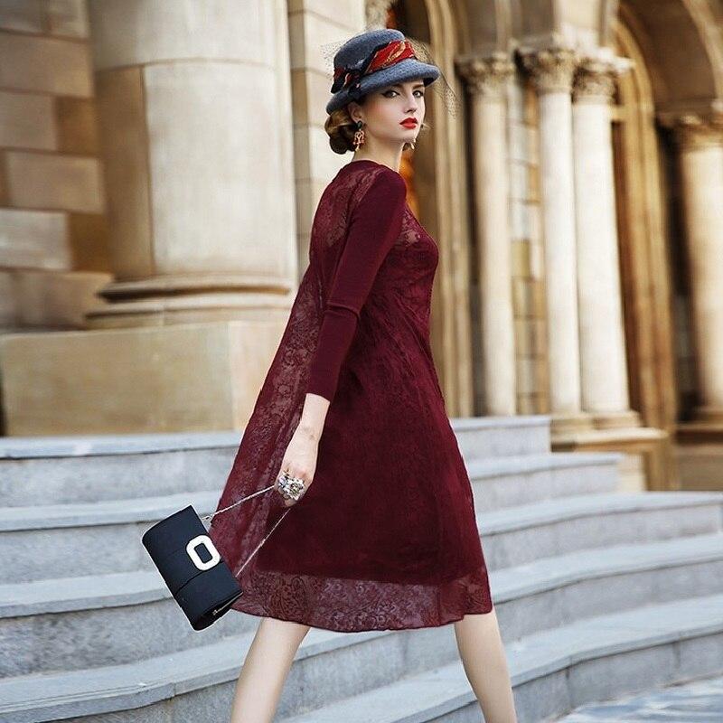 Элегантные платья на осень