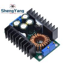 DC CC regulowany 0 2- 9A 300w przekształtnik Buck 5-40V do 1 2-35V moduł zasilania LED sterownik dla Arduino 300w XL4016 tanie tanio CN (pochodzenie) Nowy Electronic products Komputer -40-+85 7-32V DIY KIT For Arduino STM