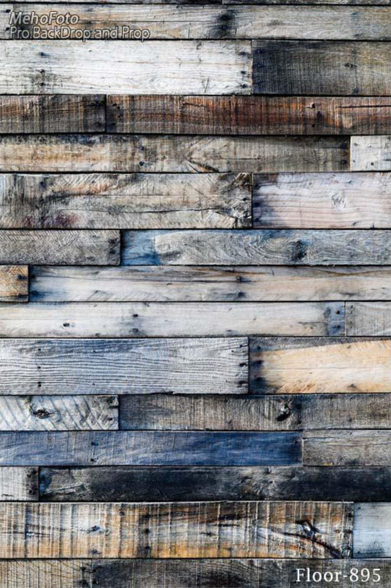 Blue Old Rustic Vintage Faux Natural Real Hard Wood Backgrounds Vinyl Cloth High Quality Computer Print Party Backdrop In Background From Consumer