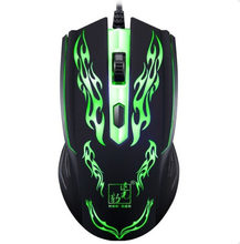 Malloom 2019 Professionelle 1500 DPI LED Optische USB Wired Gaming Maus Gamer Sem Fio Für Laptop PC Computer Büro Spiele(China)