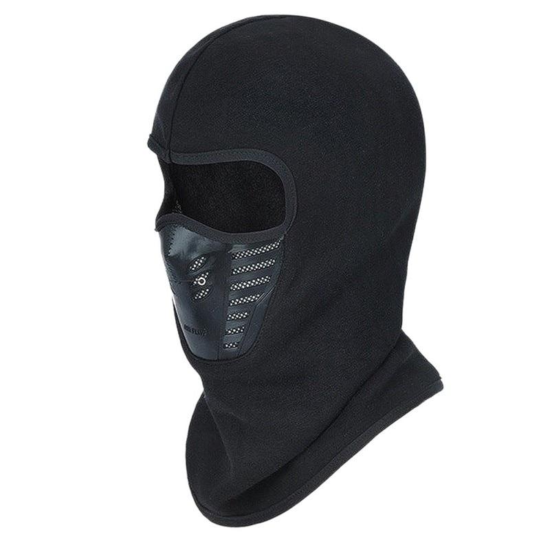 Face Mask Outdoor Winter Warm Bicycle Bike Climbing Skiing Windproof Carbon Filter Thermal Fleece Balaclava Head Protector