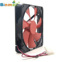 2017 Baru Terbaik Diam Diam 140 Mm PC Case Cooling Fan 14 Cm DC 12V 4D Plug Kipas Komputer JUN8(China)
