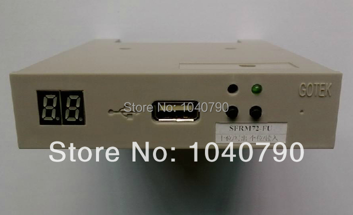 High Security GOTEK SFRM72-FU 72KB ABS Floppy Drive Emulator Machine For Industrial