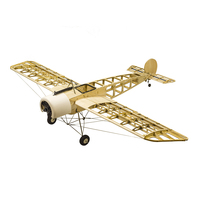 RC Airplane Kits 1.5M Fokker Aircraft Model Balsa Wood Airplane Electric & Gas Power DIY RC Planes Building Toys for Easy Fly