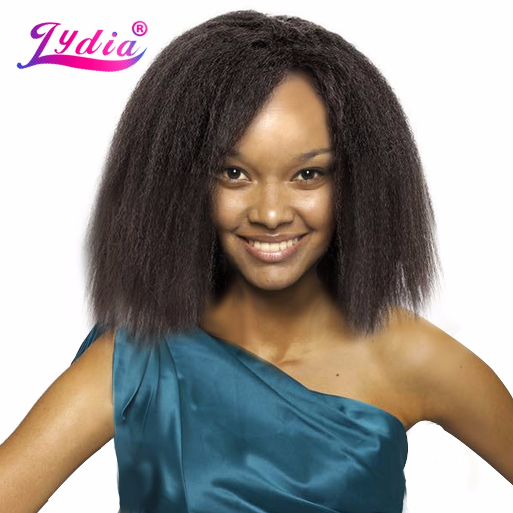 Lydia For Black Women Synthetic Hair Extension Short Kinky