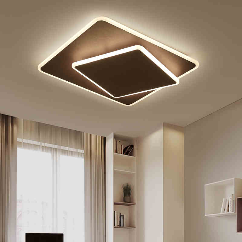 Plafond Lumières pour salon Chambre lamparas de techo Acrylique Moderne LED Plafond Lampe pour bébé garçons Filles Moderne Plafond lampe