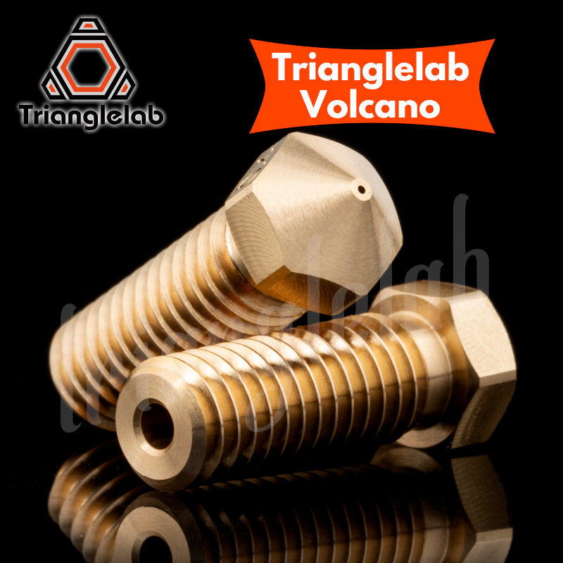 Image 2 - trianglelab T  Volcano Nozzle 1.75MM Large Flow High quality custom models for 3D printers hotend for E3D volcano hotend J head-in 3D Printer Parts & Accessories from Computer & Office
