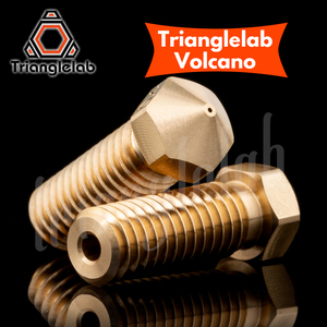 Image 2 - trianglelab T  Volcano Nozzle 1.75MM Large Flow High quality custom models for 3D printers hotend for E3D volcano hotend J head
