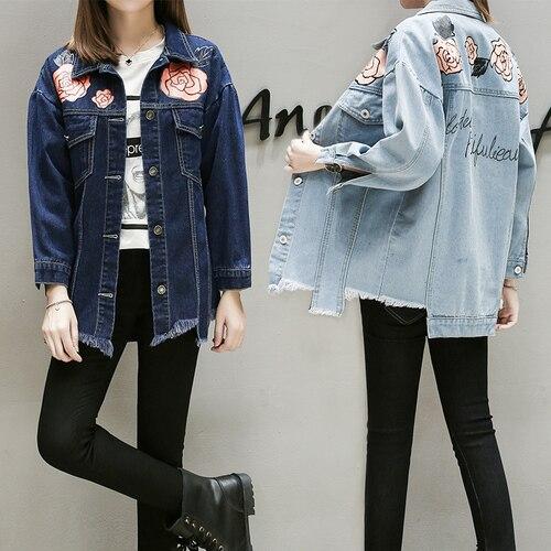 5xl plus big size font b jackets b font women spring autumn winter 2018 feminina thin