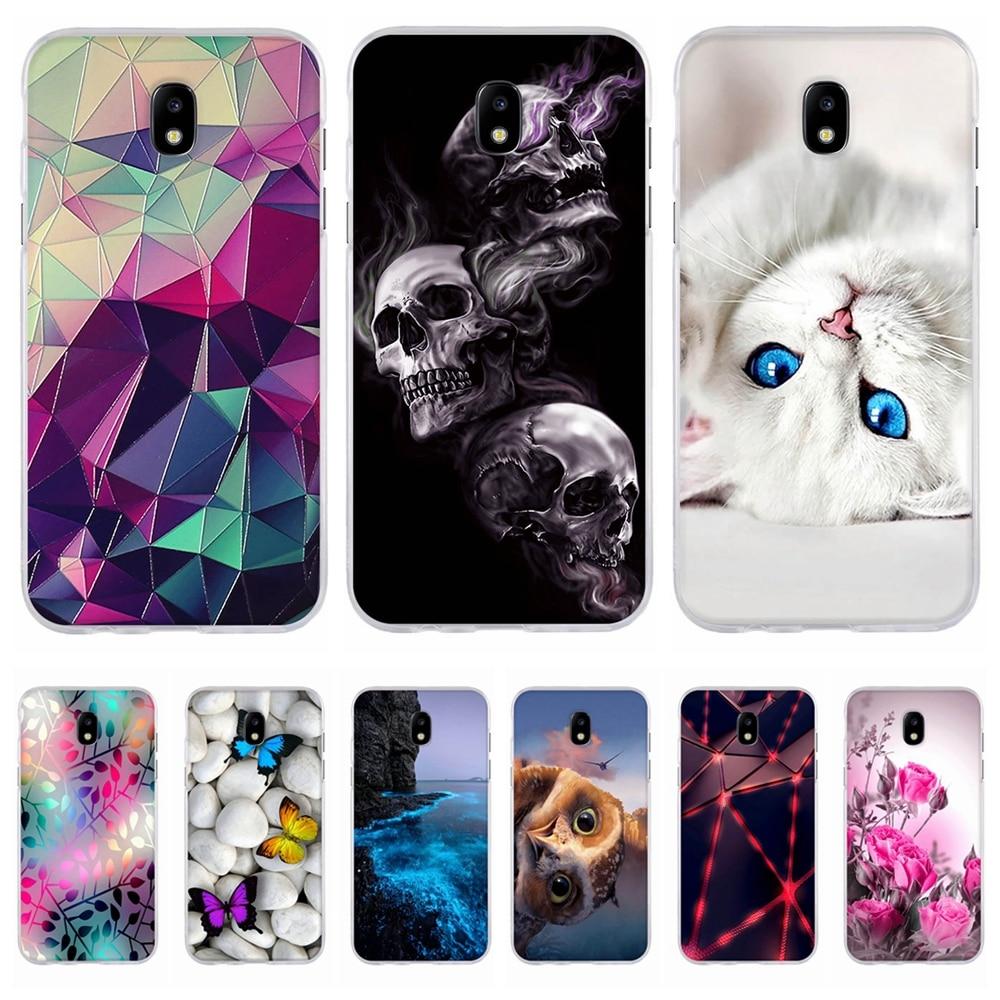 Galleria fotografica Case For Samsung Galaxy J5 2017 Case Silicon Cover for Samsung Galaxy J5 2017 Cover for Samsung J5 2017 Case J530F Phone Case 3D