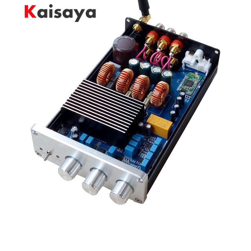 Breeze audio BA10C TPA5613 Hifi 2.1 Bluetooth 4.0 75W*2+150W Subwoofer Digital Audio Power Amplifier DC18 32V G2 011